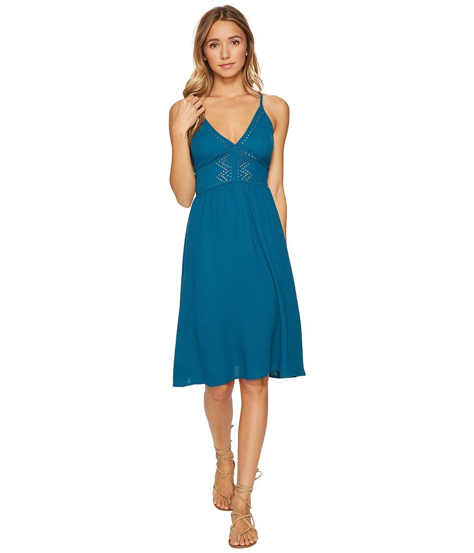 Volcom Laser Lite Dress (Storm Blue) Women