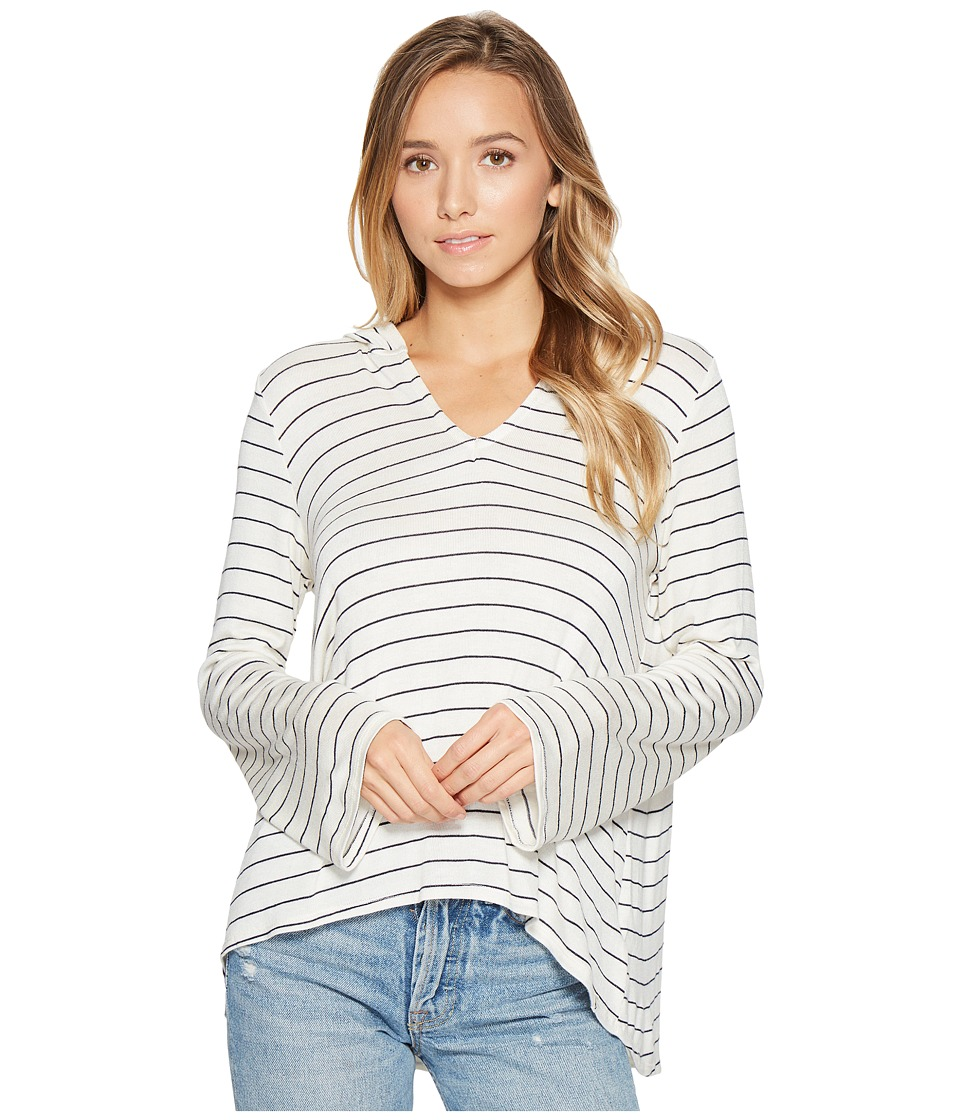 Volcom - Second Chance Poncho (White) Women's Sweater