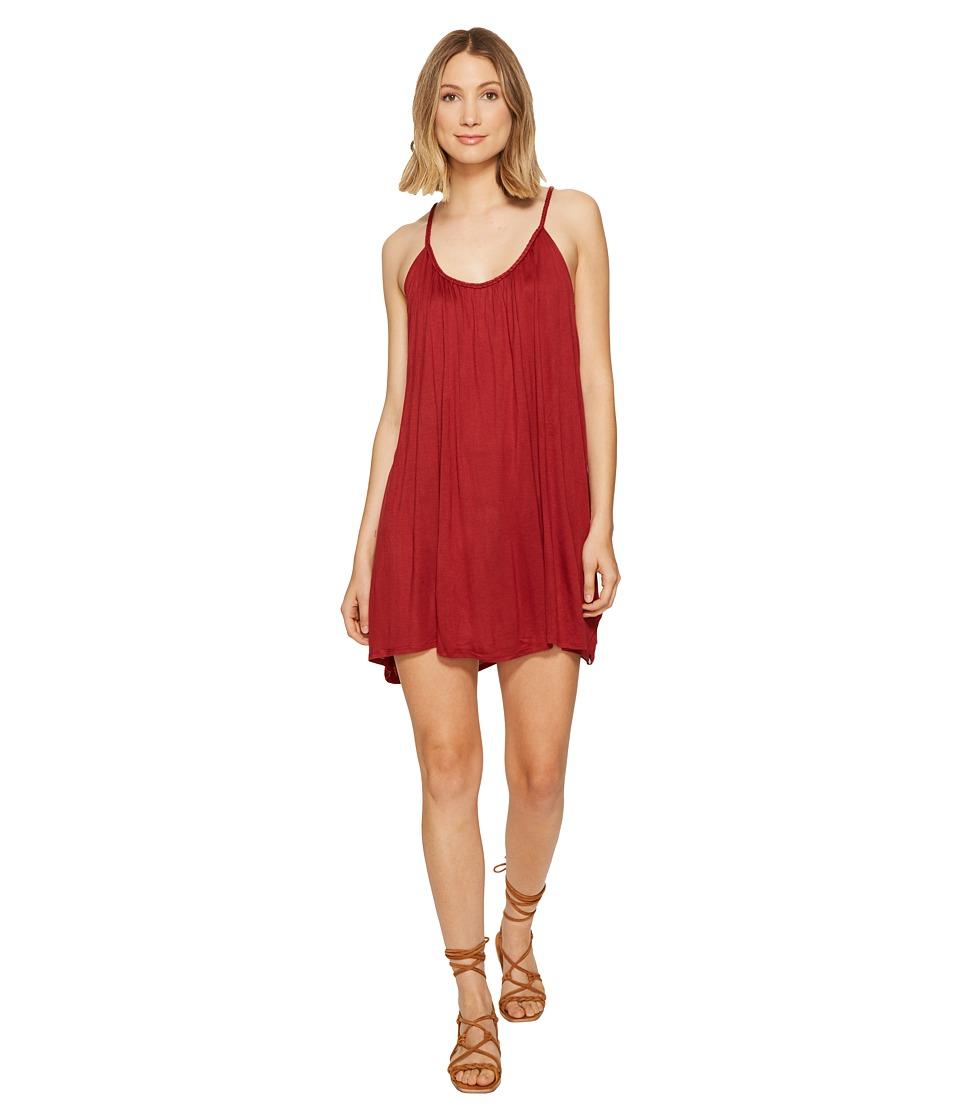 Volcom Starry Flite Dress (Bark Brown) Women