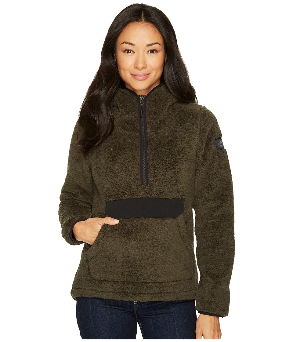 The North Face Campshire Pullover Hoodie (New Taupe Green) Women