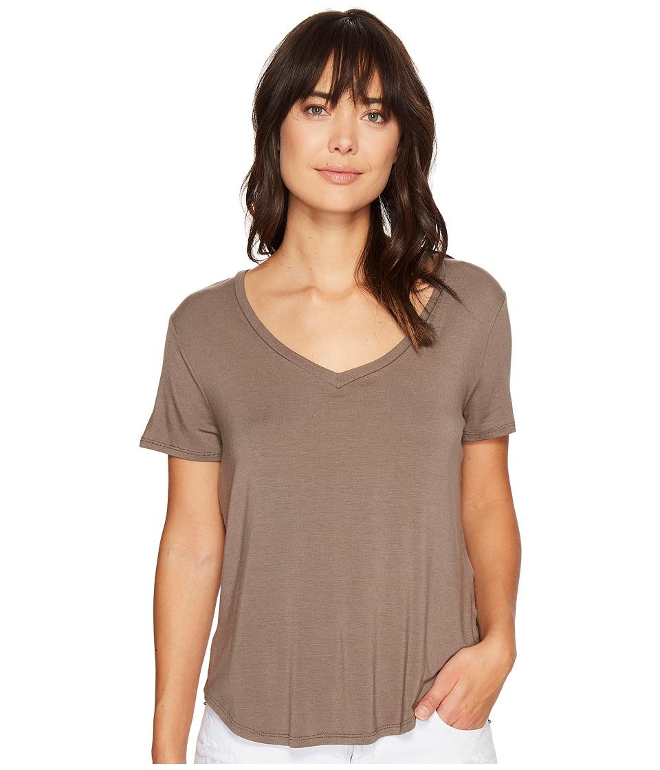 Volcom - Lived in Tee (Brown Khaki) Women's T Shirt