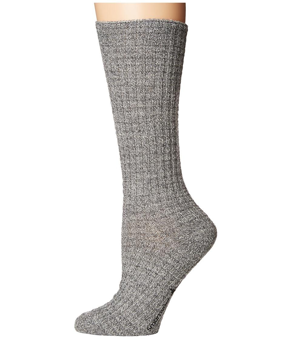 Smartwool Premium Town Crossing Boot Socks (Medium Gray Heather) Women