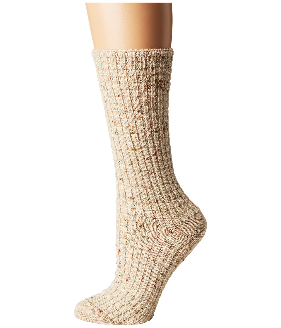 Smartwool Premium Broadmoore Marl Boot Sock (Natural Heather) Women