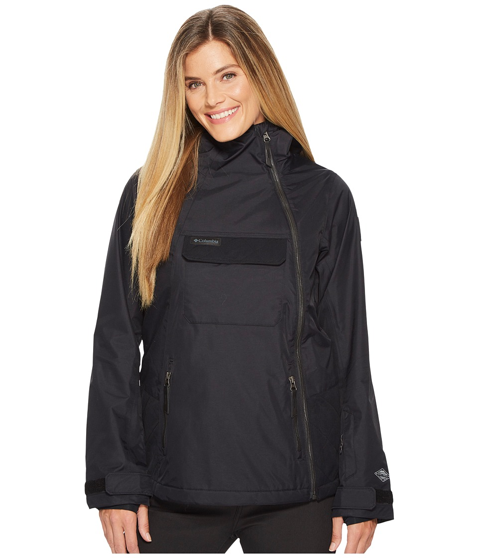 Columbia Catacomb Crest On Snow Anorak (Black) Women