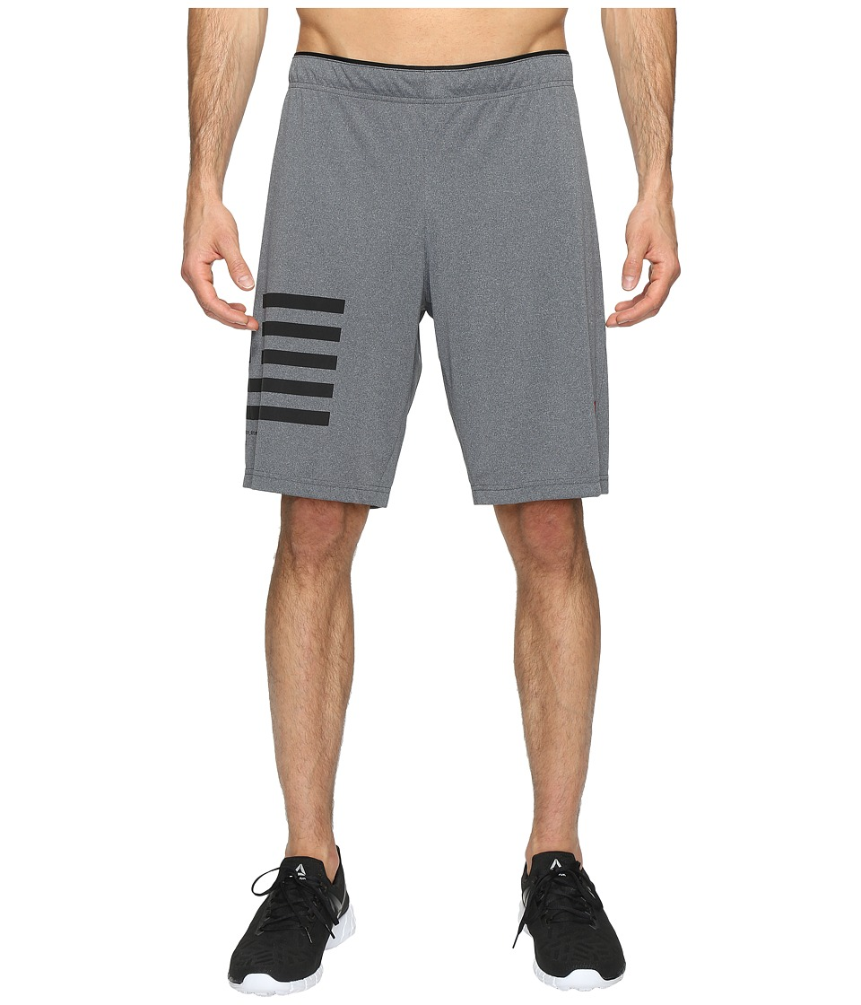 Reebok - One Series Antimicrobial Knit Shorts (Grey) Men's Shorts