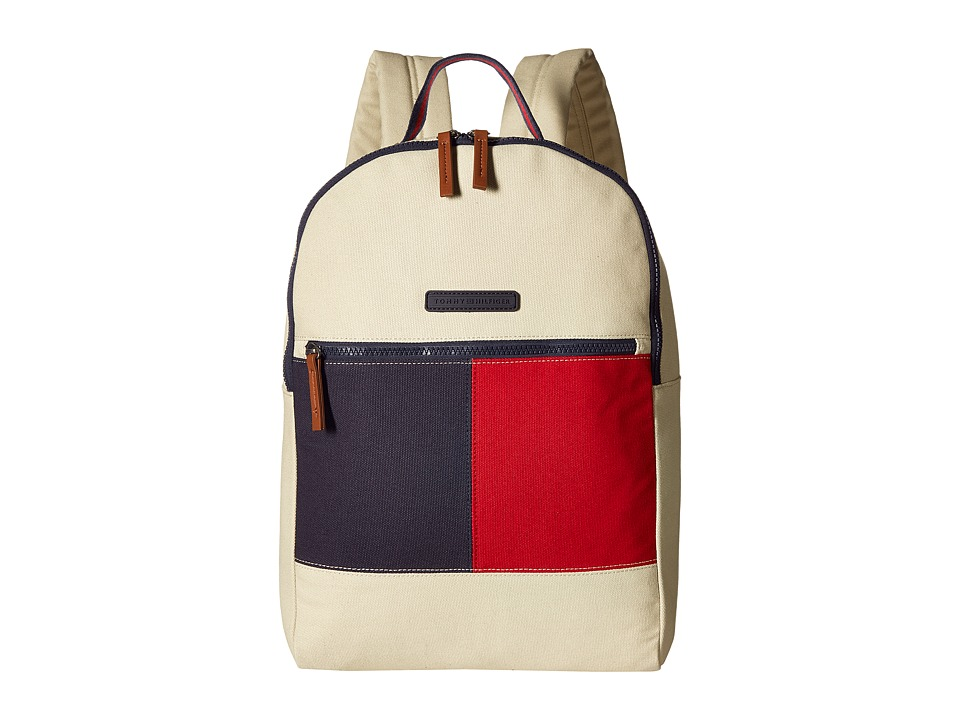 Tommy Hilfiger - Flag Color Block Backpack - Canvas (Parachute) Backpack Bags
