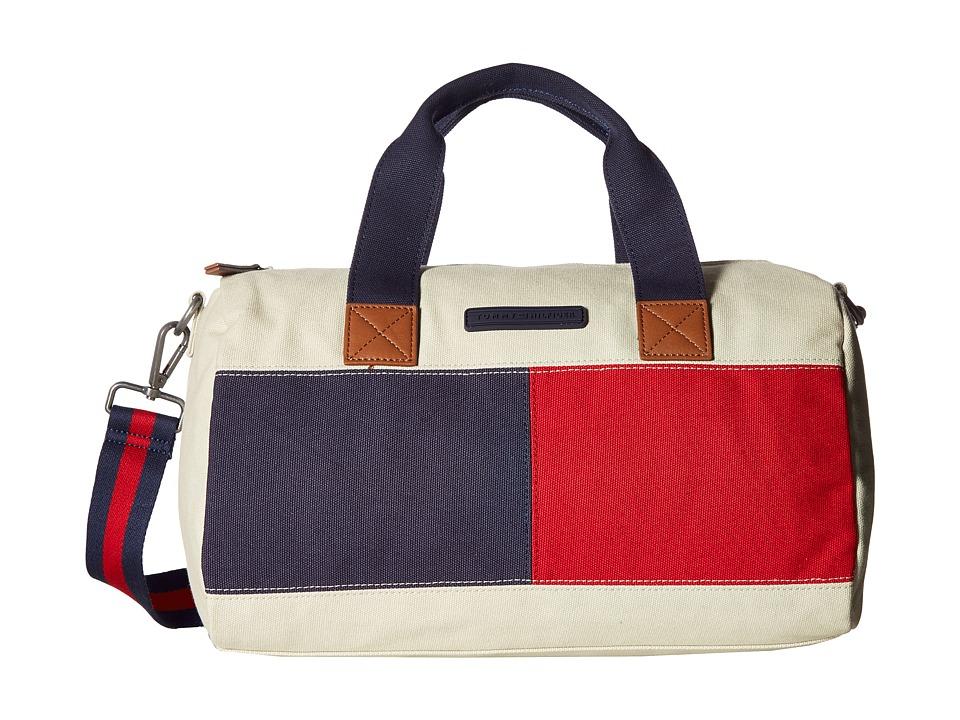Tommy Hilfiger - Flag Color Block Mini Duffel - Canvas (Parachute) Duffel Bags