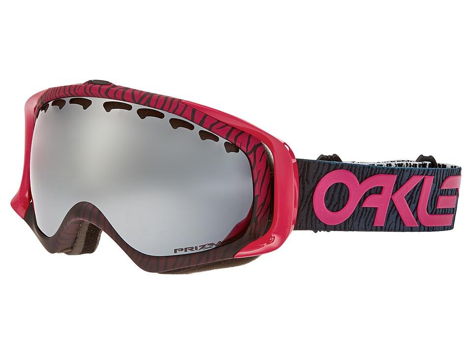 Oakley - Crowbar (Factory Pilot Bengal Pink w/ Prizm Black) Snow Goggles