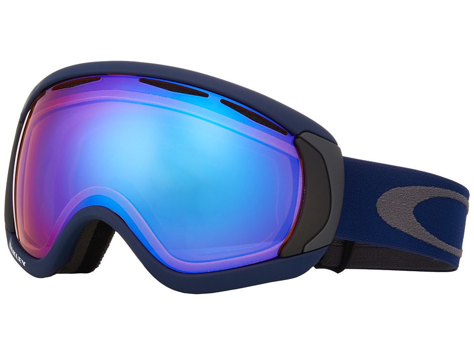 Oakley - MPH Canopy (Medieval Blue w/ Hi Persimmon) Snow Goggles