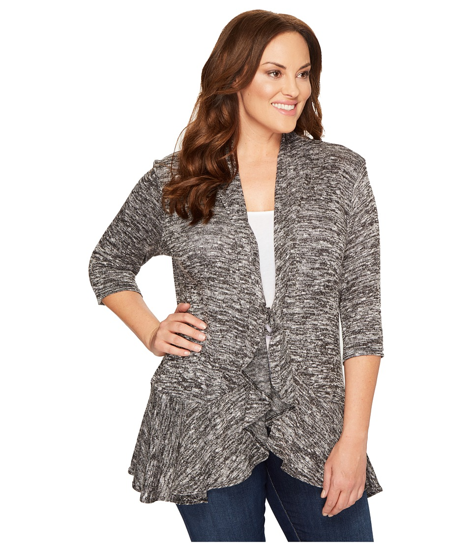 Kiyonna - Love Story Cardigan (Static) Women's Sweater