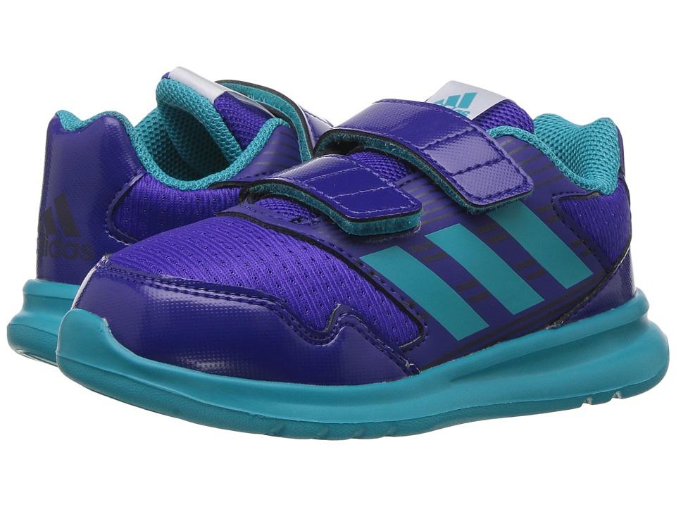 adidas Kids AltaRun CF I (Toddler) (Energy Ink/Energy Blue/Purple Night Metallic) Girls Shoes