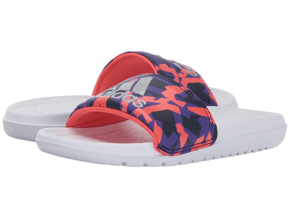 adidas Kids - Voloomix xJ (Little Kid/Big Kid) (Footwear White/Energy Ink/Noble Ink) Kids Shoes