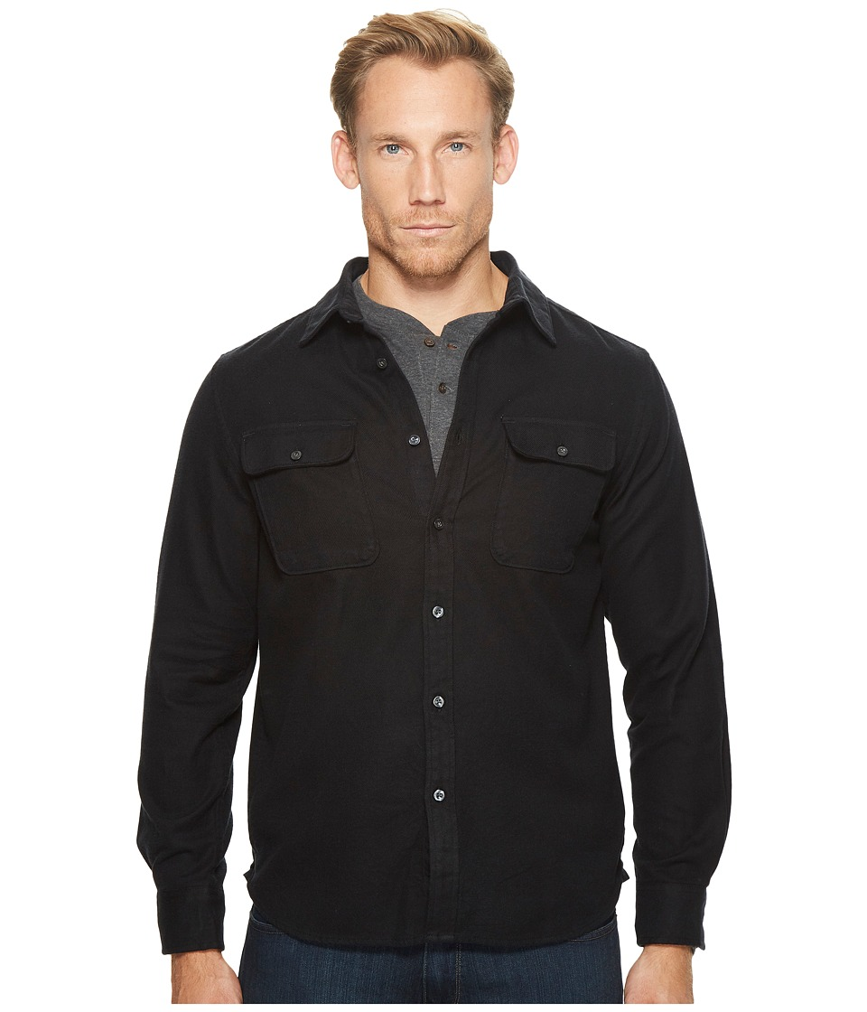 The North Face Long Sleeve Arroyo Flannel Shirt (TNF Black) Men