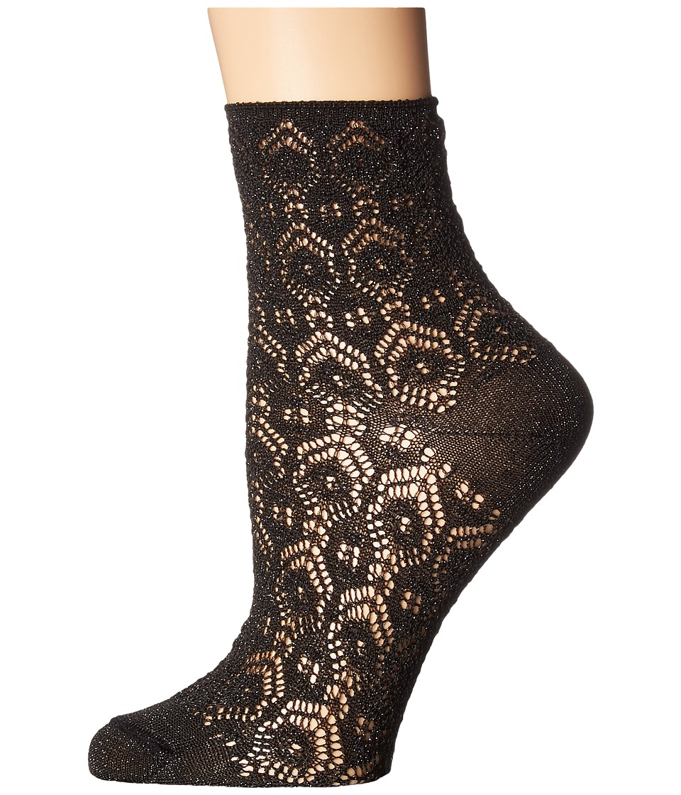 Falke - Sri Lanks Short Sock (Black) Women's Crew Cut Socks Shoes