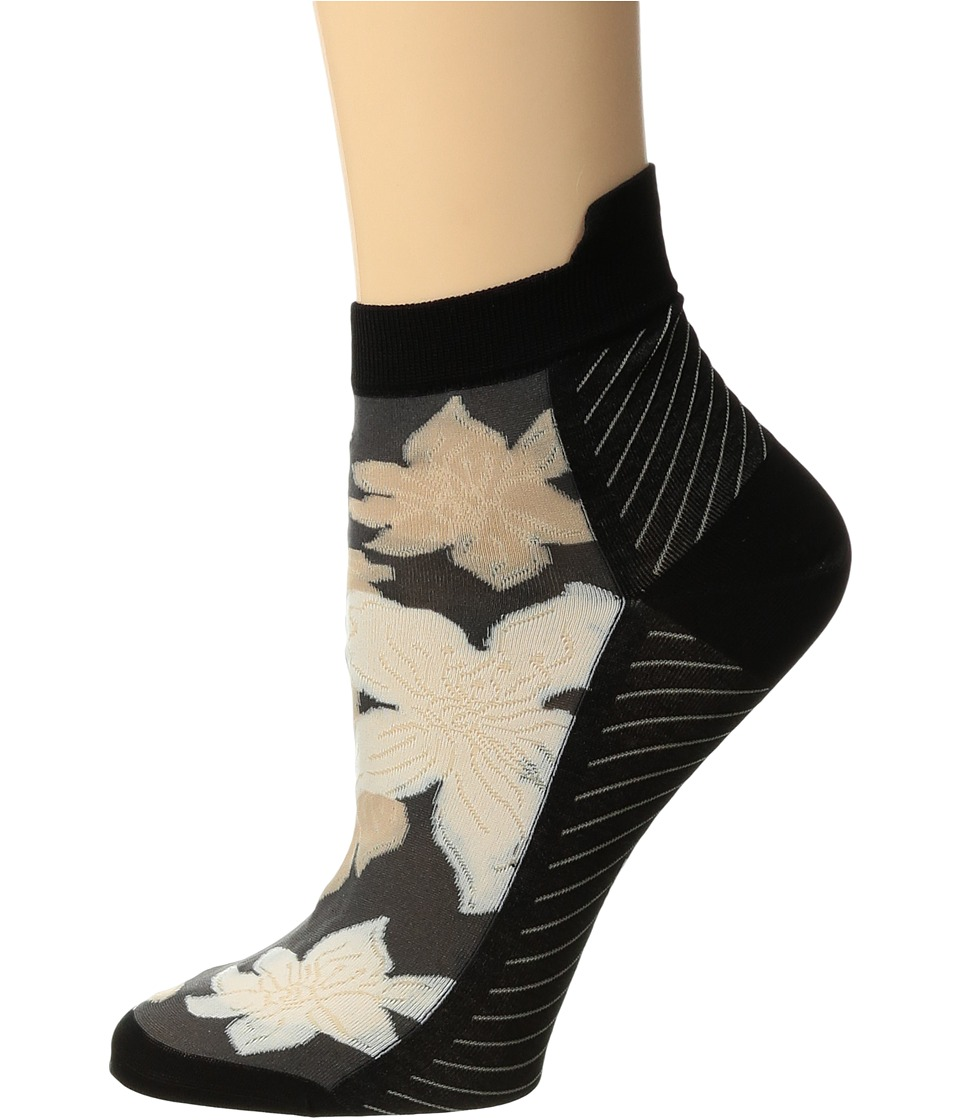 Falke - Copacabana Short Sock (Black) Women's Crew Cut Socks Shoes