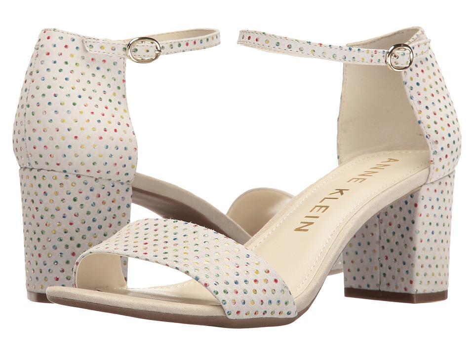 Anne Klein - Camila (Off-White Multi Leather (Fiesta Dot)) Women's Shoes