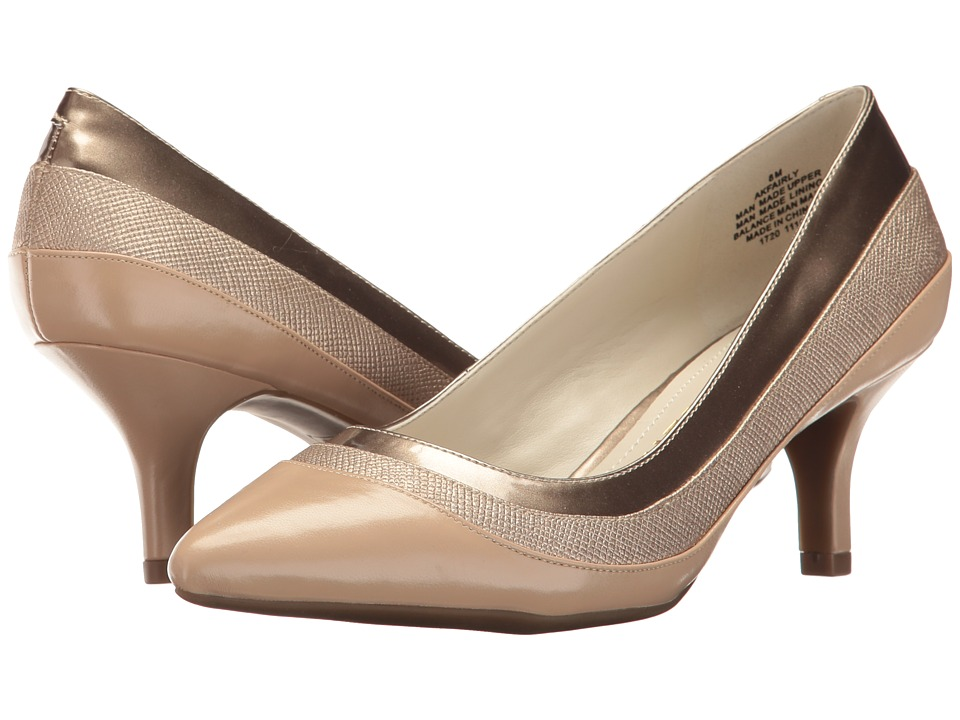 Anne Klein - Fairly (Light Natural Multi Synthetic) Women's Shoes