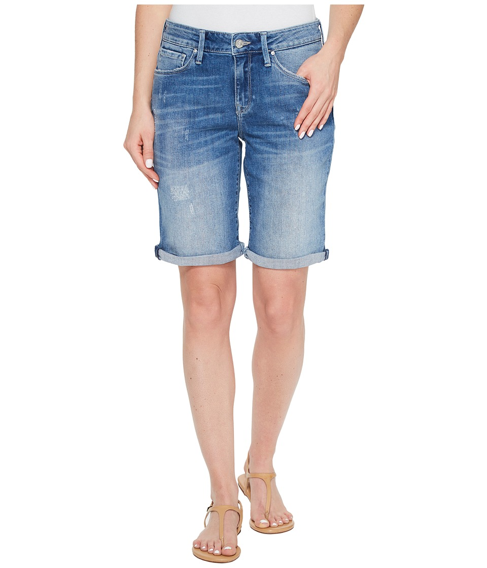 Mavi Jeans - Alexis Shorts in Mid Ripped Stripe (Mid Ripped Stripe) Women's Shorts
