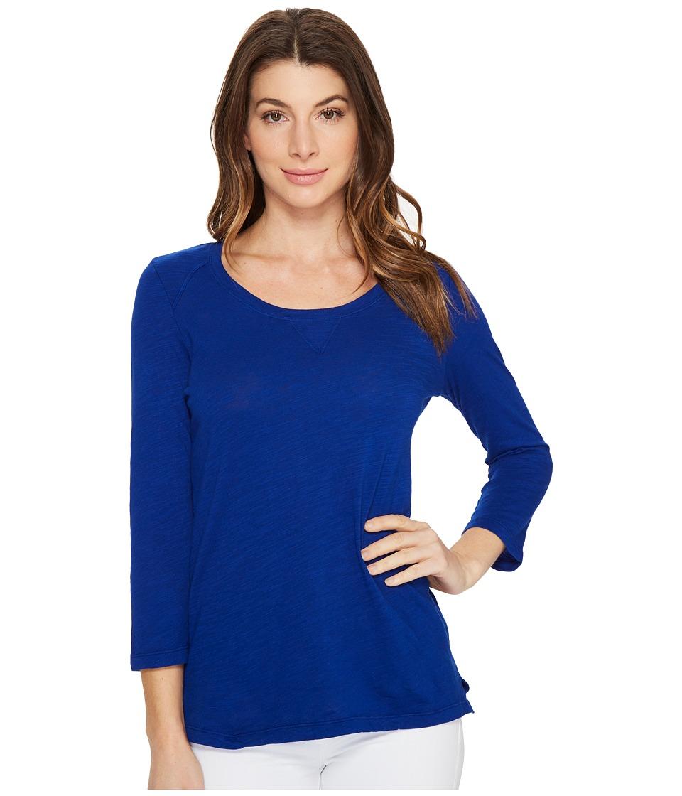 Mod-o-doc - Slub Jersey 3/4 Sleeve Sweatshirt Tee (Nautical) Women's T Shirt