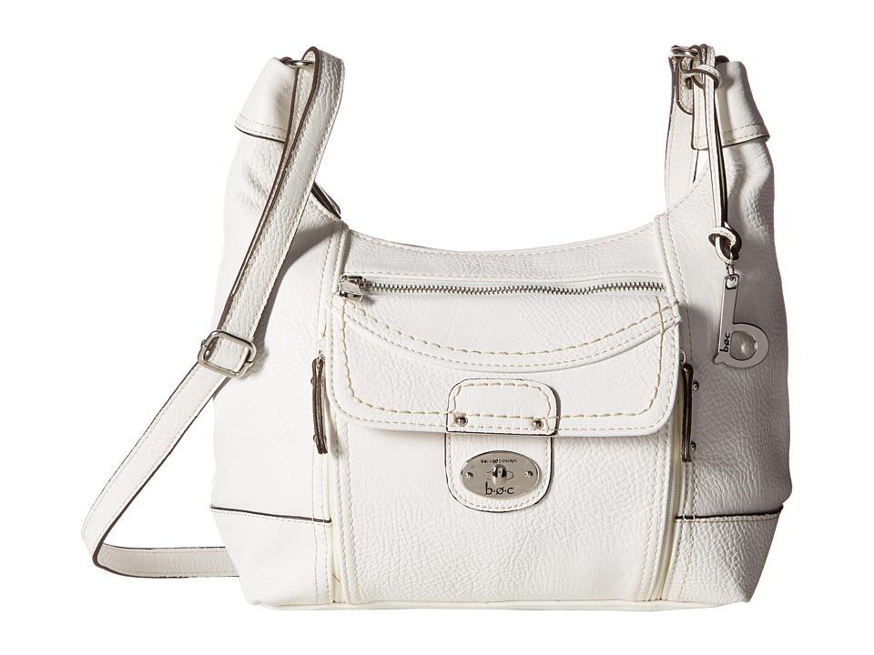 b.o.c. - Waltham Crossbody (White) Cross Body Handbags