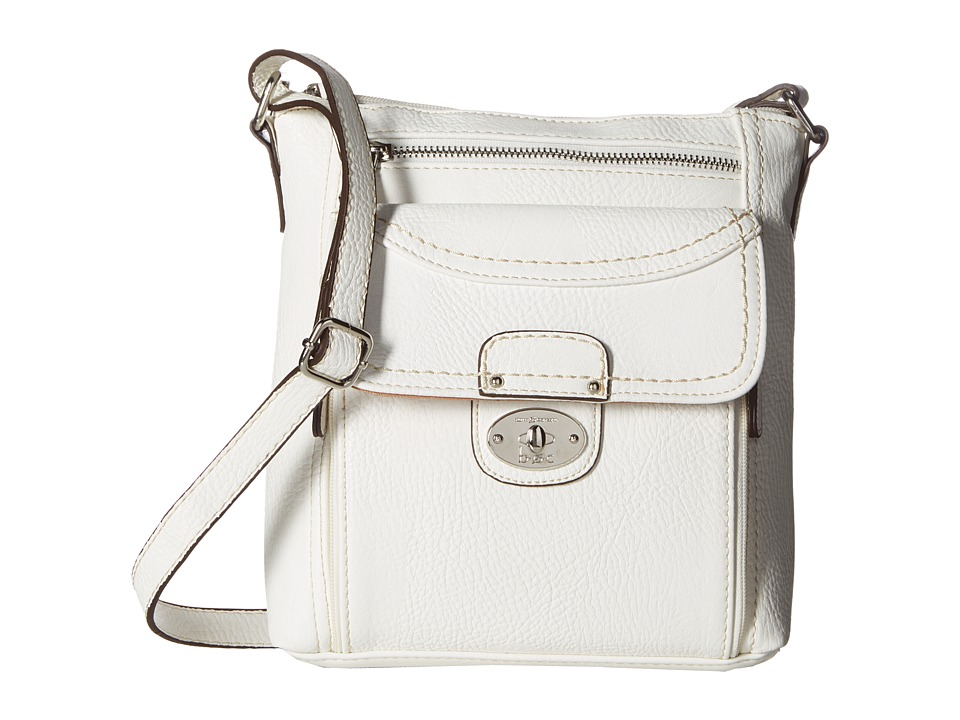 b.o.c. - Waltham Crossbody (White) Cross Body Handbags