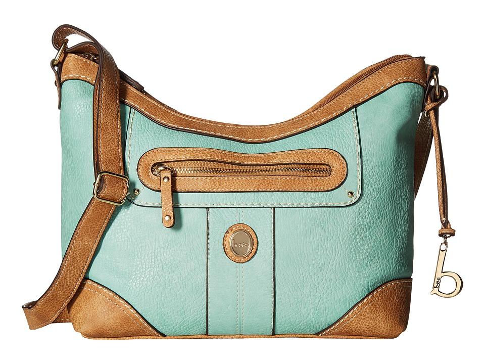 b.o.c. - Mcallister Crossbody (Mint) Cross Body Handbags