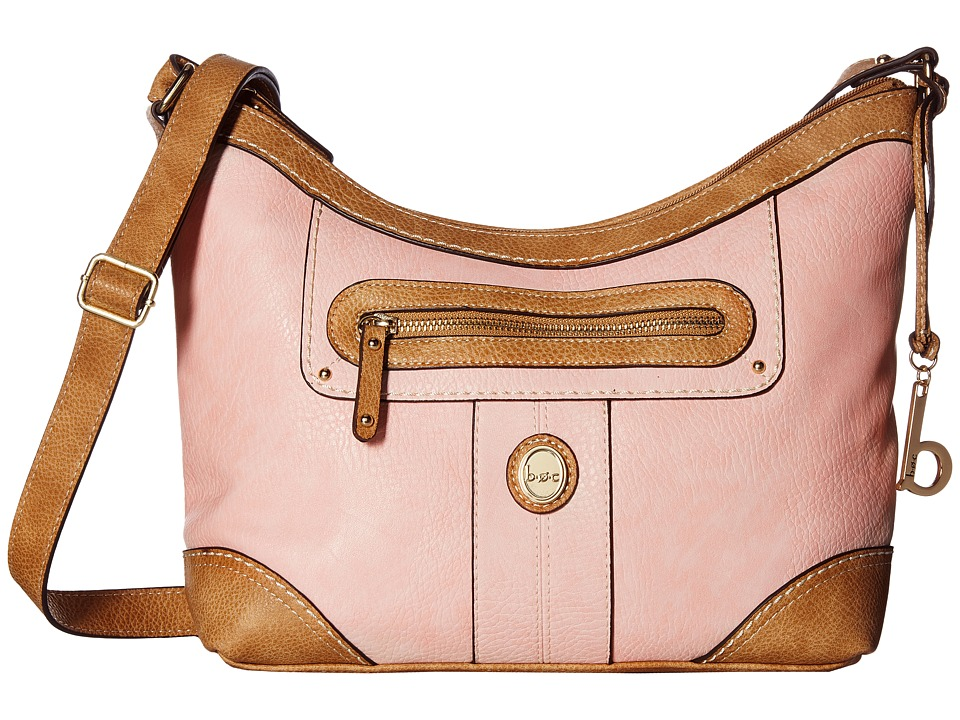 b.o.c. - Mcallister Crossbody (Blush) Cross Body Handbags