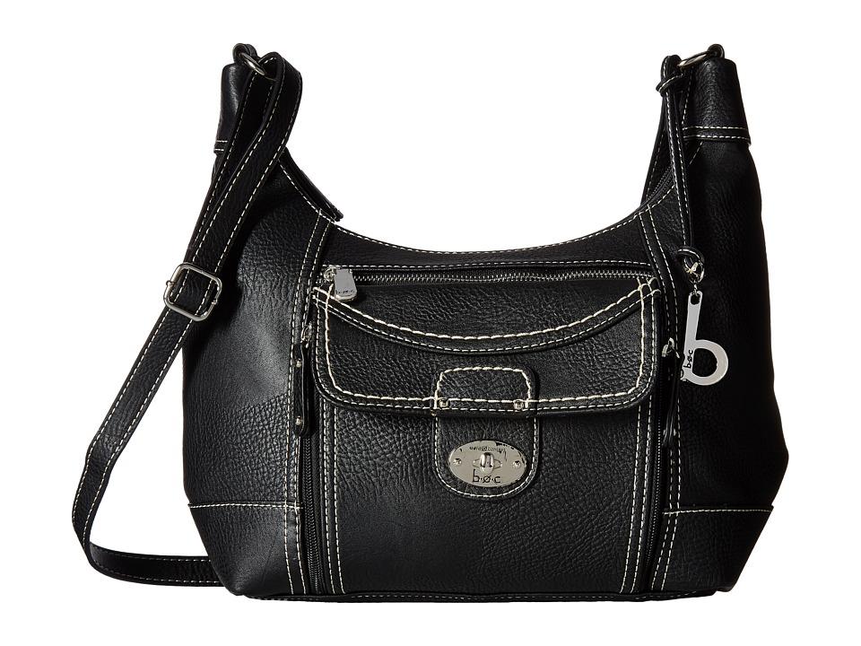 b.o.c. - Waltham Crossbody (Black) Cross Body Handbags