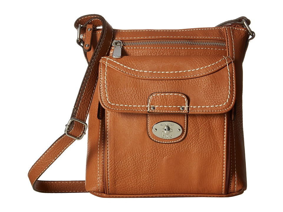 b.o.c. - Waltham Crossbody (Saddle) Cross Body Handbags