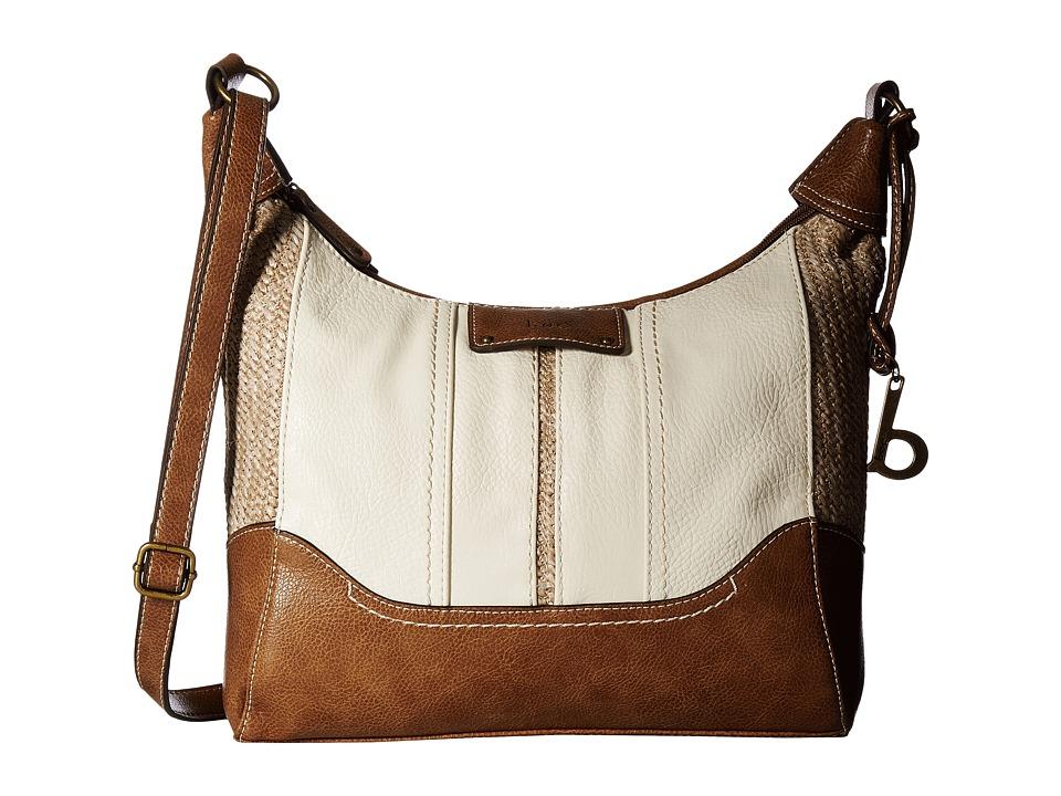 b.o.c. - Tylerville Merrimac Crossbody (Bone/Straw/Saddle) Cross Body Handbags