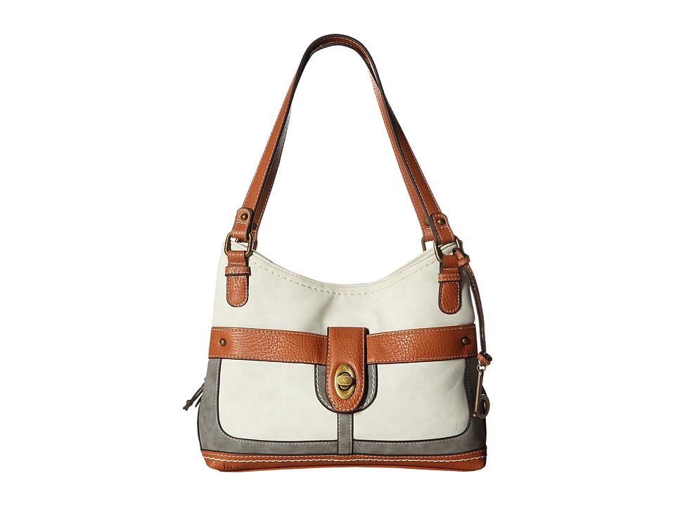 b.o.c. - Vandenburg Shopper (Bone/Elephant) Handbags