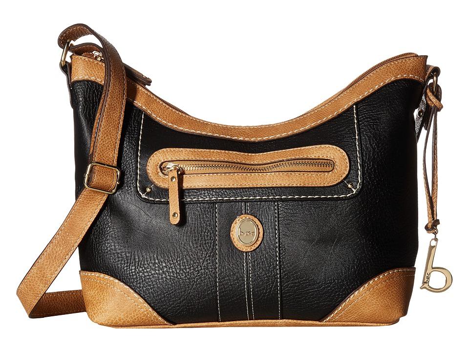 b.o.c. - Mcallister Crossbody (Black) Cross Body Handbags