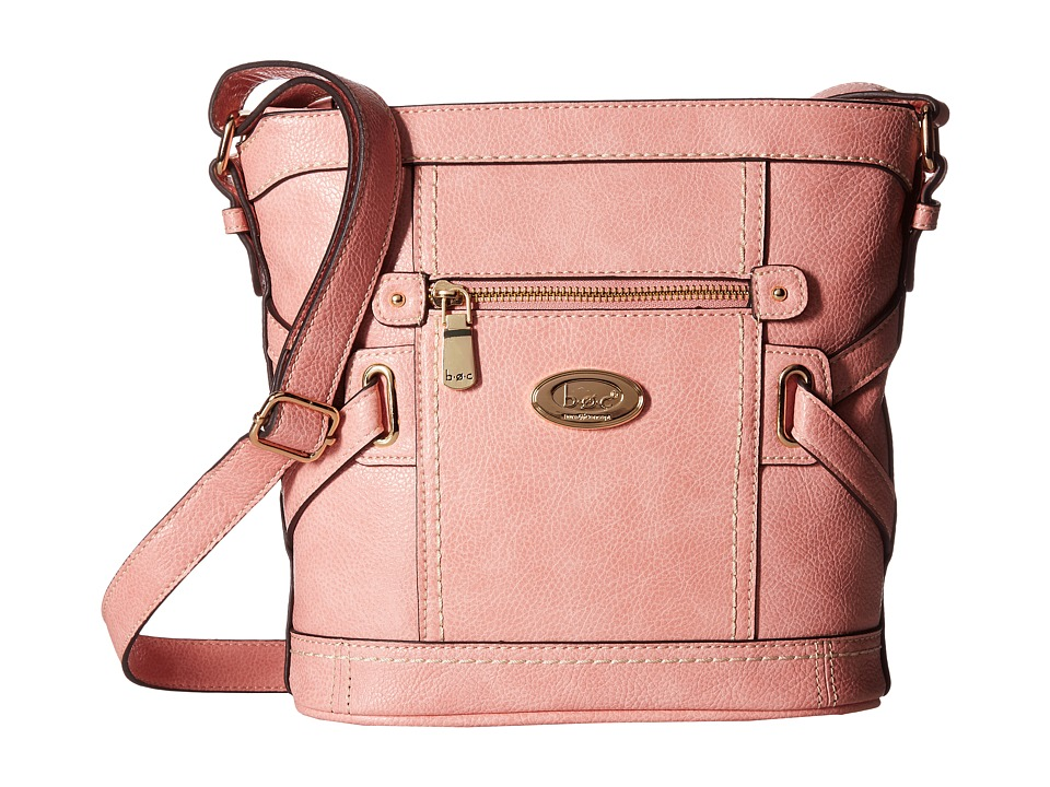 b.o.c. - Parkslope Vinyl Tulip Crossbody (Blush) Cross Body Handbags
