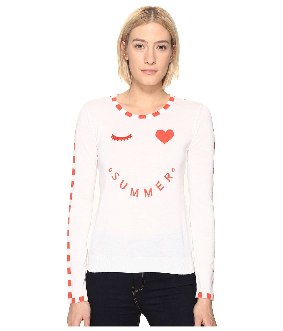 Paul Smith - Summer Sweater (White) Women's Sweater