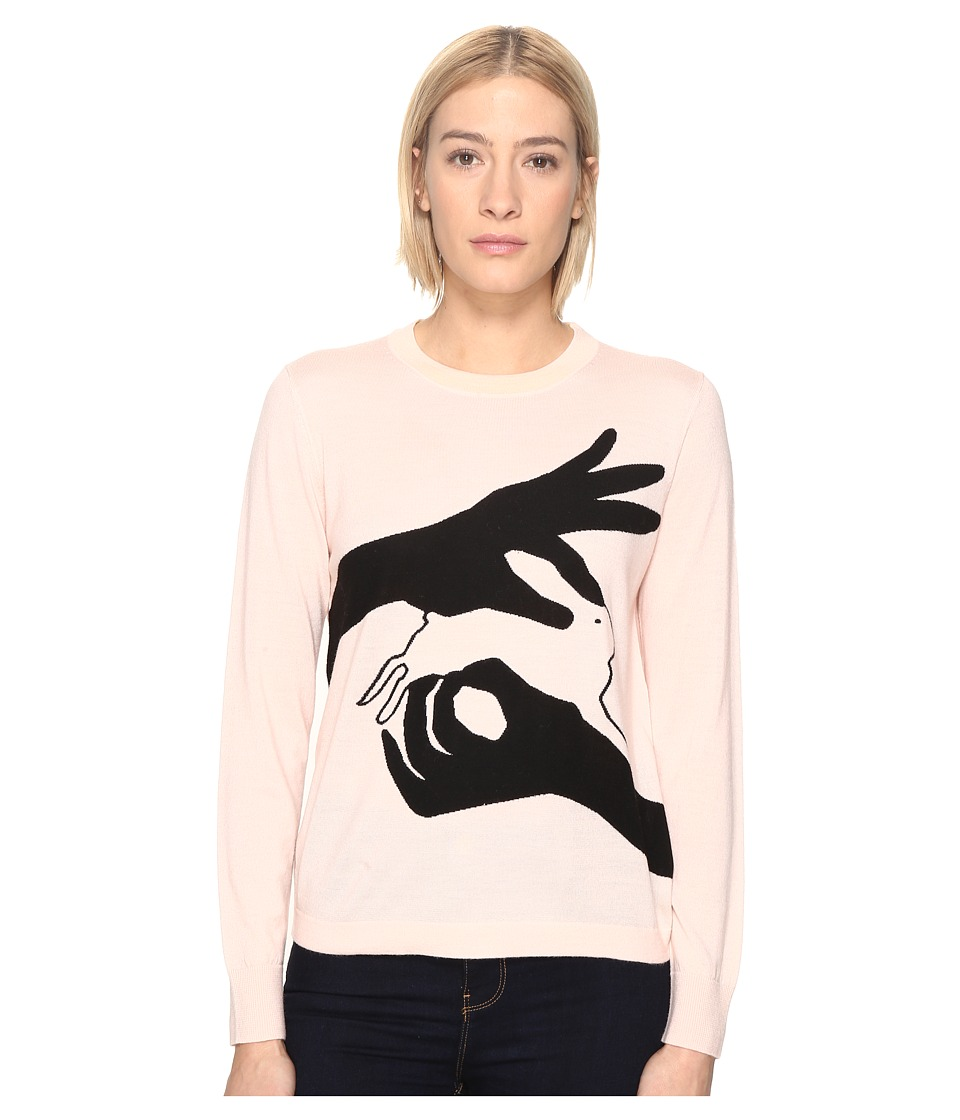 Paul Smith - Bunny Sweater (Pale Pink) Women's Sweater