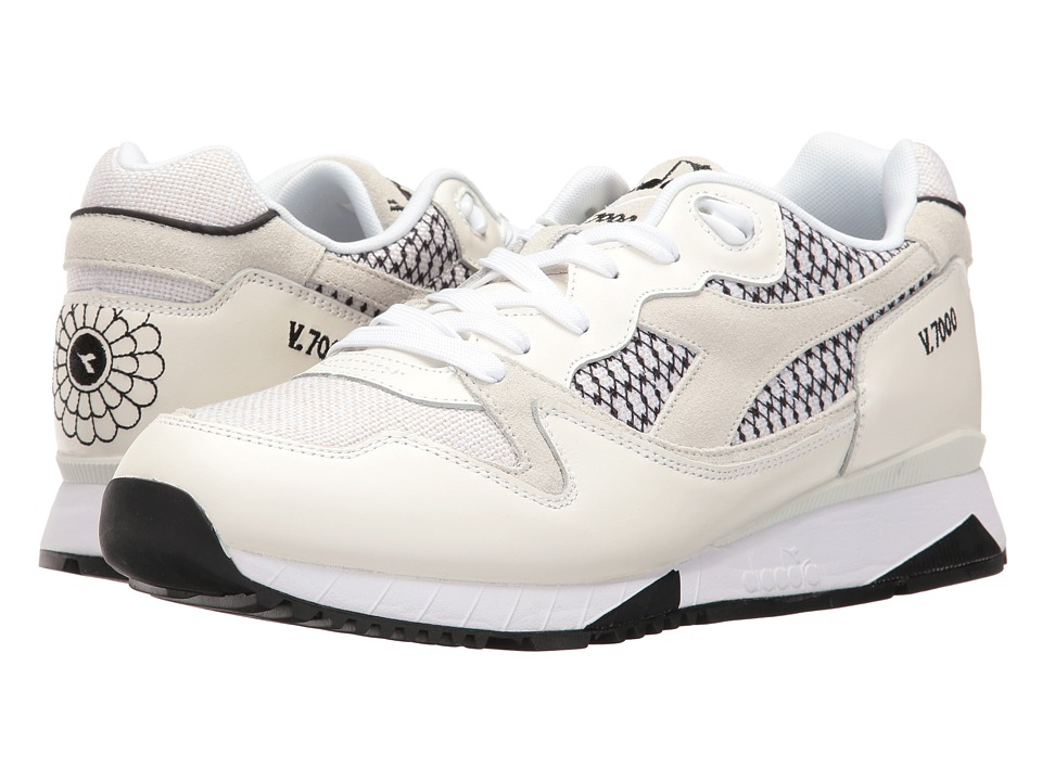 Diadora - V7000 Samurai (White) Athletic Shoes