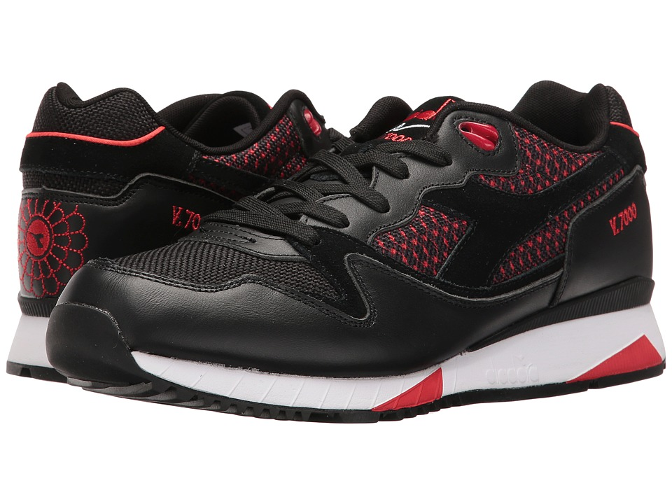 Diadora - V7000 Samurai (Black) Athletic Shoes