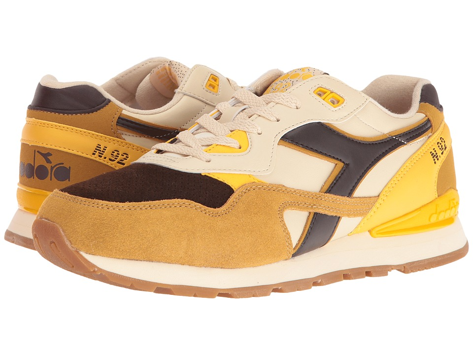 Diadora - N - 92 WNT (Marzipan/Chocolate Brown) Athletic Shoes