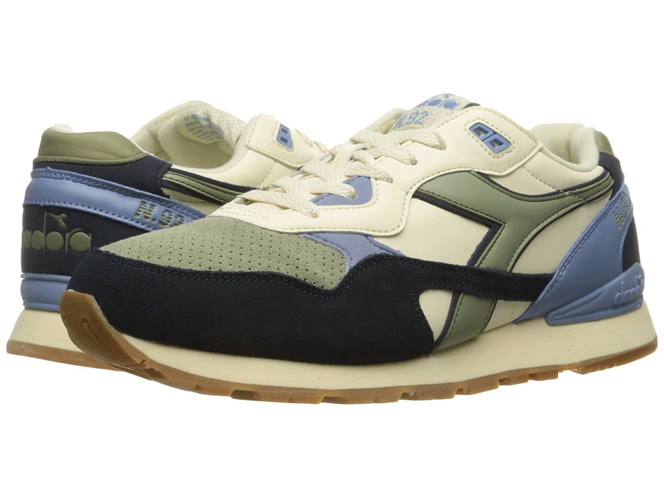Diadora - N - 92 WNT (Eggnog/Tea) Athletic Shoes