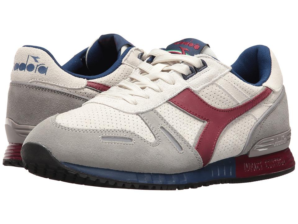 Diadora - Titan Premium (Saltire Navy/Bordeaux) Athletic Shoes