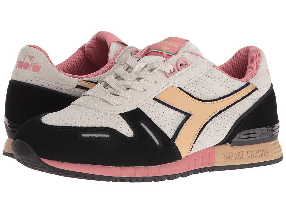 Diadora - Titan Premium (Light Gray/Sand) Athletic Shoes
