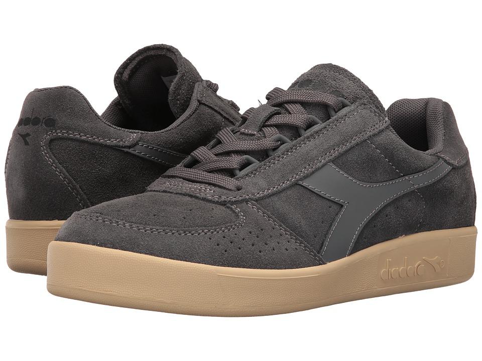 Diadora - B.Elite Suede (Steel Gray) Athletic Shoes