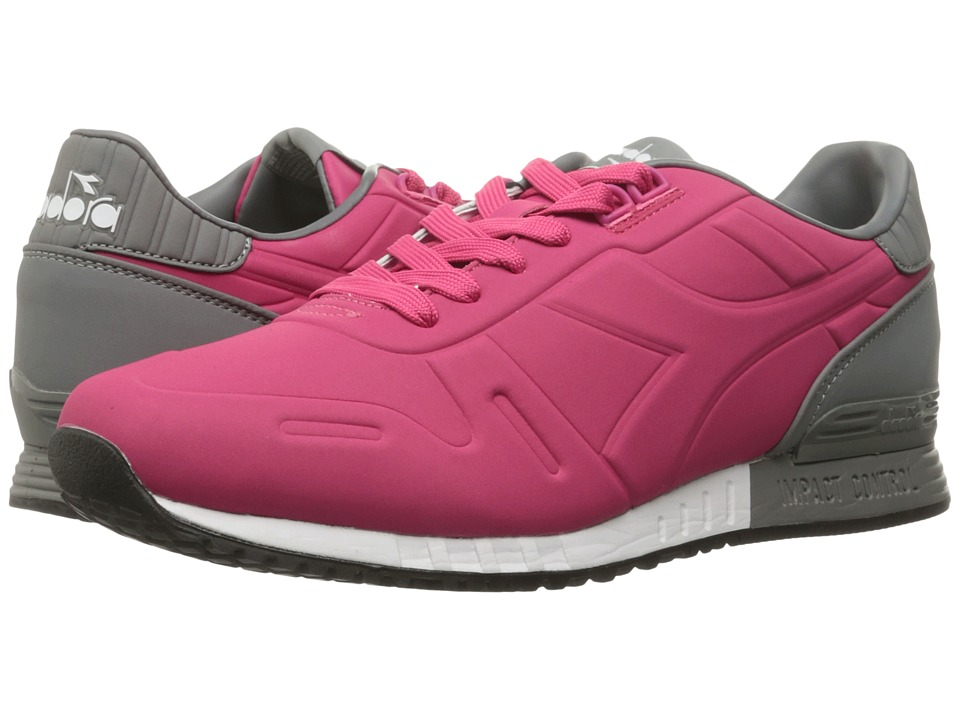 Diadora - Titan N II (Frost Gray/Bright Rose) Athletic Shoes