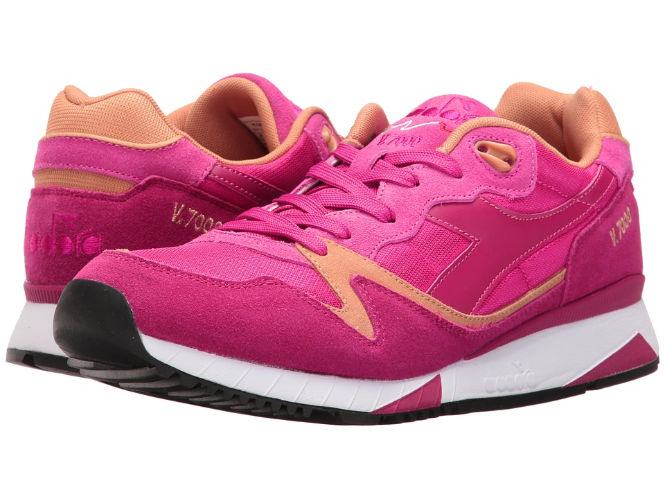 Diadora - V7000 NYL II (Sand/Bright Rose/Incense) Athletic Shoes