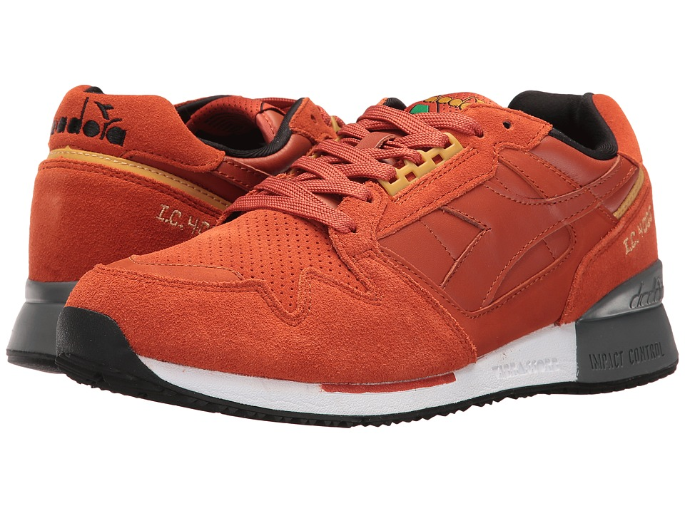 Diadora I.C. 4000 Premium (Burnt Ochre) Athletic Shoes