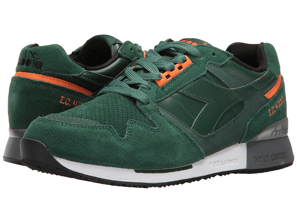 Diadora I.C. 4000 Premium (Jungle Green) Athletic Shoes