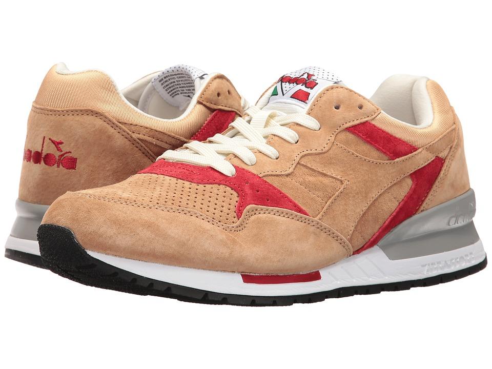Diadora - Intrepid Premium (Beige Juta) Athletic Shoes