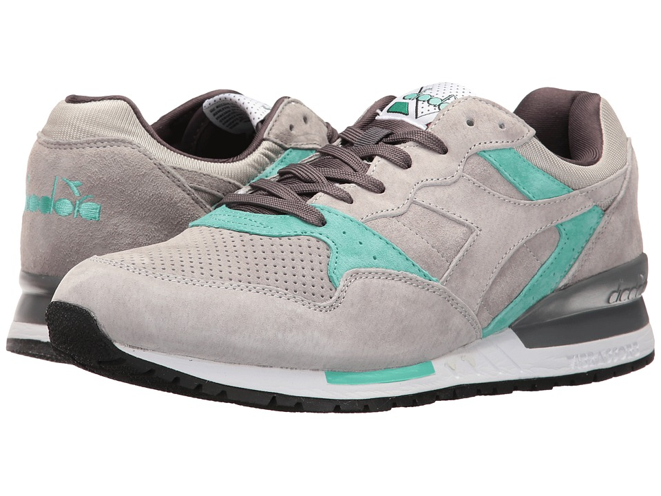 Diadora - Intrepid Premium (Gray Ash Dust) Athletic Shoes