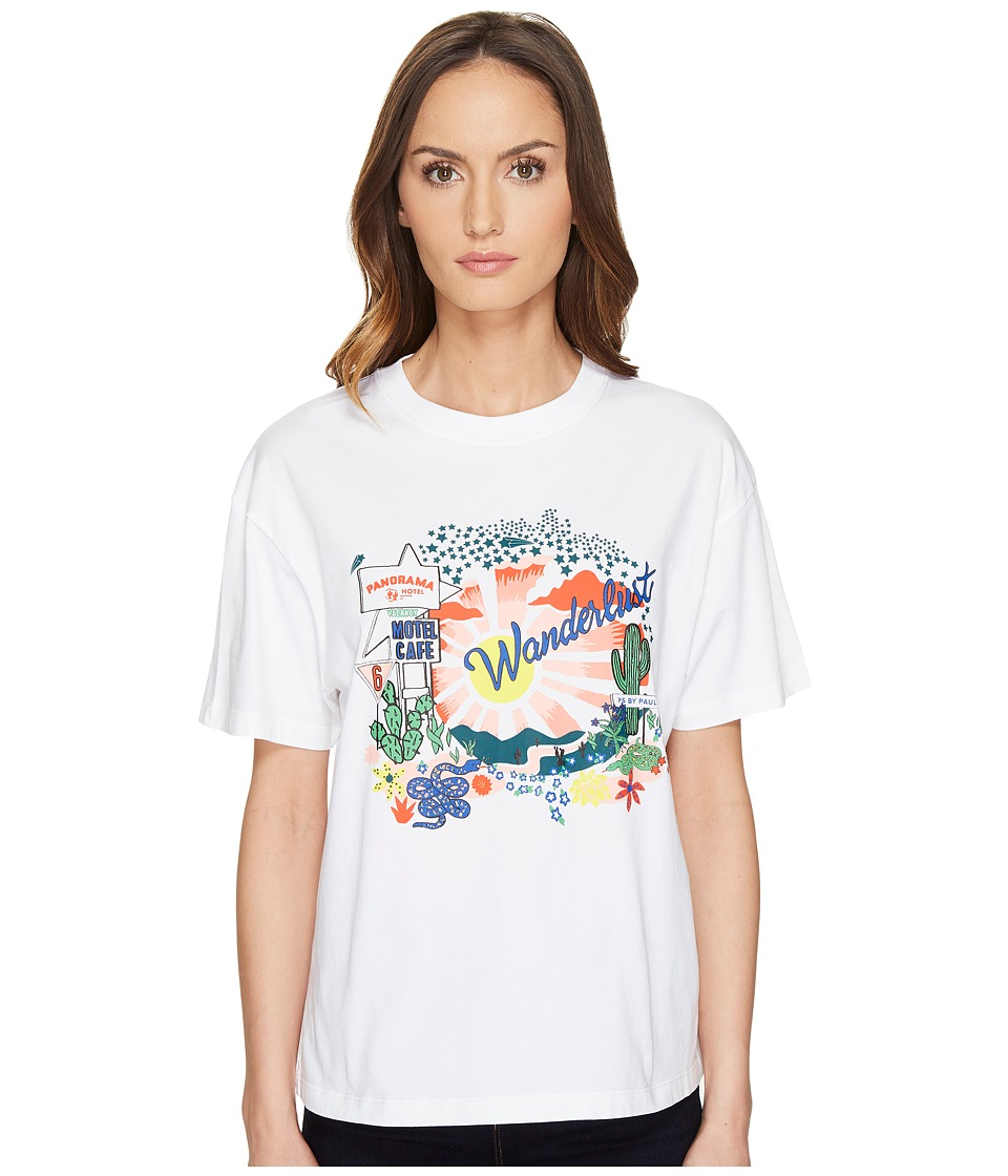 Paul Smith - Wanderlust T-Shirt (White) Women's T Shirt