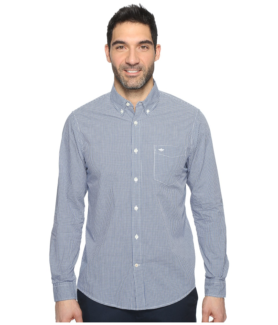 Dockers Premium - Essential Poplin Long Sleeve Standard Fit (Ceramic Blue 1) Men's Clothing